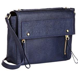 3.1 Phillip Lim Pashli Leather Messenger Bag Blue